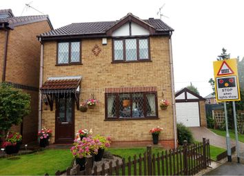 Thumbnail 4 bedroom detached house for sale in Brickyard Drive, Hucknall