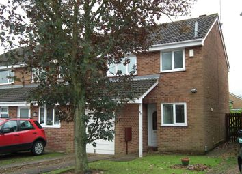 Thumbnail 3 bed property to rent in Oleander Crescent, Northampton