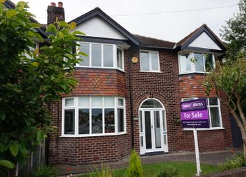 Thumbnail 5 bed semi-detached house for sale in Napier Road, Heaton Moor
