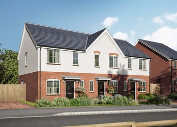 Thumbnail 2 bed terraced house for sale in Willow Walk, Lea, Ross-On-Wye, Herefordshire