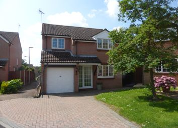 Thumbnail 4 bed detached house for sale in Milestone Close, Stevenage