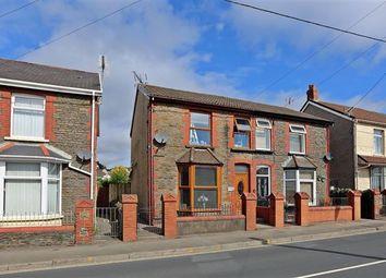 Thumbnail 3 bed semi-detached house for sale in Main Road, Tonteg, Pontypridd