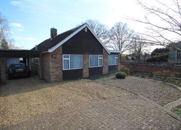 Thumbnail 3 bed bungalow for sale in Church Leys Avenue, Rearsby, Leicester