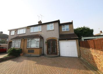 Thumbnail 4 bed semi-detached house for sale in Redlie Close, Stanford-Le-Hope