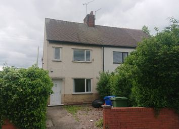 Thumbnail 2 bed semi-detached house to rent in Storforth Lane Hasland, Chesterfield