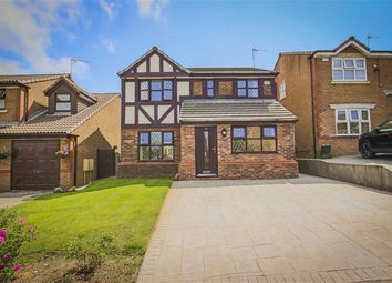 Thumbnail 4 bed detached house for sale in Heyworth Avenue, Livesey, Blackburn