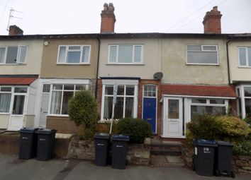 Thumbnail 2 bed terraced house to rent in Orphanage Road, Birmingham