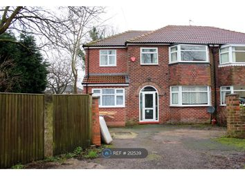 Thumbnail 4 bedroom semi-detached house to rent in Brighton Avenue, Manchester