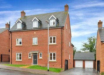 Thumbnail 5 bed detached house for sale in Kedleston Road, Grantham