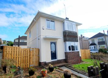 Thumbnail 3 bed detached house for sale in Burnham Park Road, Plymouth
