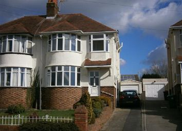 Thumbnail 3 bed semi-detached house to rent in Ridgeway Avenue, Newport, Newport.