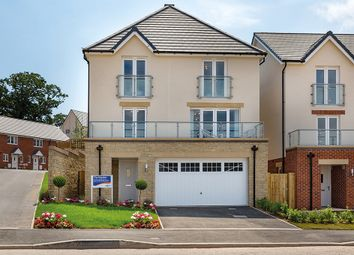 "Thumbnail 4 bedroom detached house for sale in ""The Haydon"" at Chard Road, Axminster"