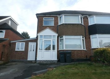 Thumbnail 3 bed semi-detached house for sale in Manor House Lane, Yardley, Birmingham