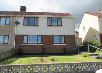 Thumbnail 3 bed semi-detached house for sale in Heol Penhydd, Bryn, Port Talbot, Neath Port Talbot.