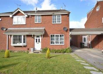 Thumbnail 3 bed semi-detached house for sale in Oakdene Court, Shadwell, Leeds
