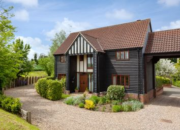 Thumbnail 4 bed barn conversion for sale in Friars Mead, The Street, Sturmer, Haverhill