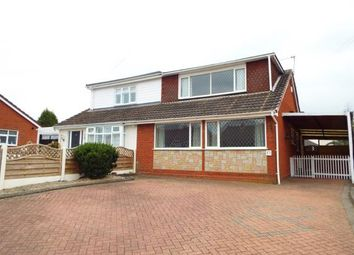 Thumbnail 3 bed bungalow for sale in Viewfield Avenue, Hednesford, Cannock, Staffordshire