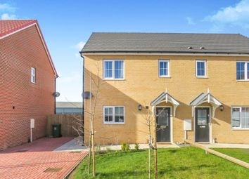 Thumbnail 2 bed semi-detached house for sale in Lychgate View, Old Leake, Boston