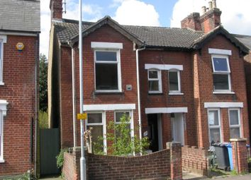 Thumbnail 2 bedroom semi-detached house for sale in 29 Bramford Lane, Ipswich, Suffolk