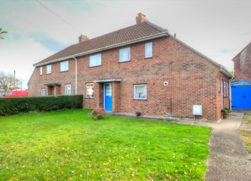 Thumbnail 3 bed semi-detached house for sale in Wood Lane, Swardeston, Norwich