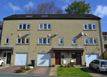 Thumbnail 4 bed town house for sale in Bryndlee Court, Holmfirth