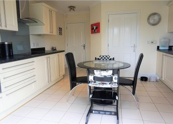 Thumbnail 4 bed detached house for sale in Milton Gardens, Narborough