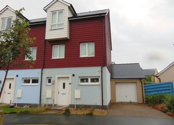 Thumbnail 3 bed end terrace house to rent in Cefn Padrig, Llanelli