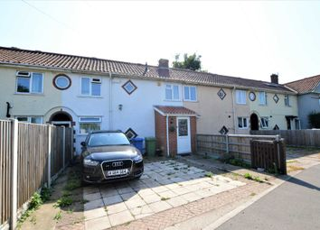 Thumbnail 3 bed terraced house for sale in Barrett Road, Norwich