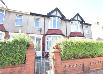 Thumbnail 3 bedroom terraced house to rent in Salisbury Road, Blackpool