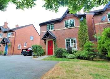 Thumbnail 4 bed detached house for sale in Castle Walks, Chirk