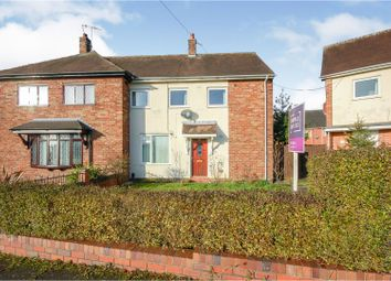 Thumbnail 3 bed semi-detached house for sale in Alderney Crescent, Stoke-On-Trent