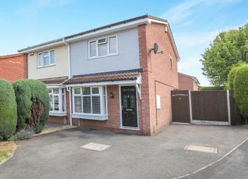 Thumbnail 2 bedroom semi-detached house for sale in Abbeyfield Road, Moseley Parklands, Wolverhampton