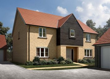 "Thumbnail 5 bed detached house for sale in ""The Wells"" at Leverett Way, Saffron Walden"