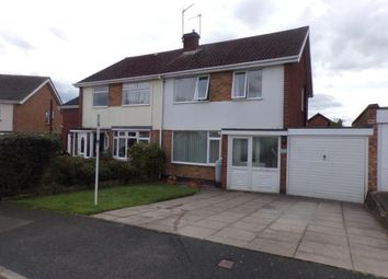 Thumbnail 3 bed semi-detached house for sale in Lea Close, Stratford Upon Avon, Warwickshire