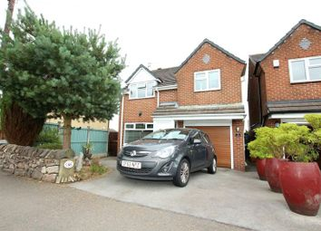 Thumbnail 3 bed detached house for sale in Wraggs Lane, Biddulph Moor, Stoke-On-Trent