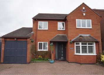 Thumbnail 4 bed detached house for sale in Boley Cottage Lane, Lichfield