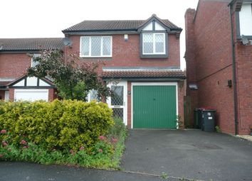 Thumbnail 3 bed detached house to rent in Quail Gate, Telford