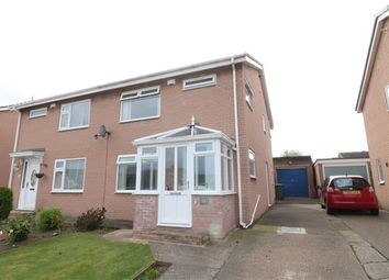 Thumbnail 3 bed semi-detached house for sale in Egerton Grove, Carlisle, Cumbria