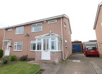 Thumbnail 3 bed semi-detached house for sale in Egerton Grove, Carlisle, Cumbria