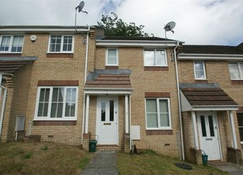 Thumbnail 2 bedroom terraced house to rent in Eastfield Close, Townhill, Swansea