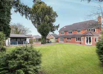 Thumbnail 5 bed detached house for sale in Hollycroft Gardens, Tettenhall, Wolverhampton