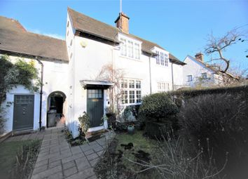 Thumbnail 3 bed terraced house for sale in Oakwood Road, Hampstead Garden Suburb