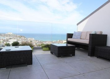 Thumbnail 4 bed terraced house for sale in Mount Wise, Newquay