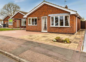 Thumbnail 2 bed detached bungalow for sale in Badminton Road, Syston, Leicester