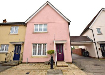 Thumbnail 3 bed semi-detached house for sale in Elgar Drive, Witham