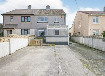 Thumbnail 2 bed semi-detached house for sale in Loscombe Road, Four Lanes, Redruth, Cornwall