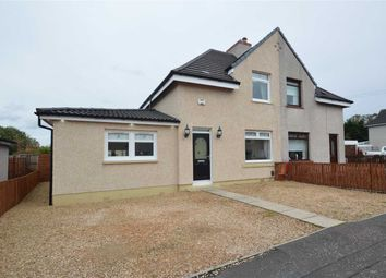Thumbnail 3 bed semi-detached house for sale in Coronation Road, New Stevenston, Motherwell