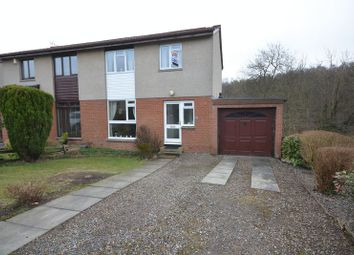 Thumbnail 3 bed semi-detached house for sale in Bickram Crescent, Comrie, Dunfermline