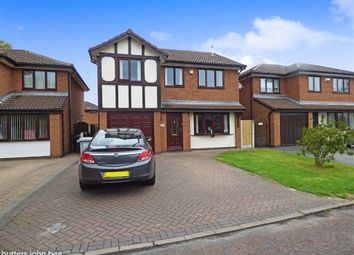 Thumbnail 4 bedroom detached house for sale in Thorpe Close, Leighton, Crewe