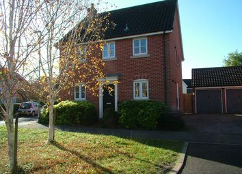 Thumbnail 3 bed detached house for sale in Fairfield Close, Long Stratton, Norwich